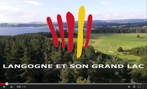 Une vidéo Langogn et son grand Lac